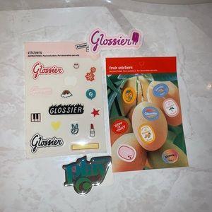 Glossier Stickers